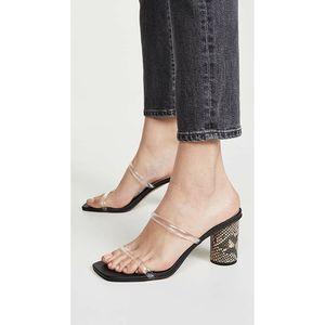New DOLCE VITA Noles Vinyl Slide Sandals Size 8